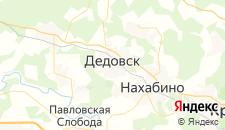 Гостиницы города Дедовск на карте