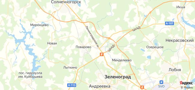 312 (станция Крюково - Солнечногорск) маршрутка в Зеленограде