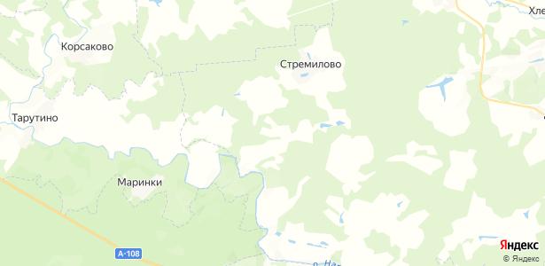 Чубарово на карте
