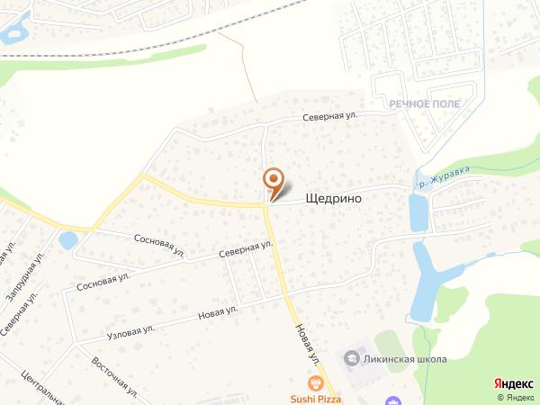 Остановка Щедрино (Московская область)