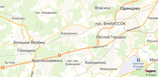 Щедрино на карте