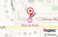 Схема проезда до компании Gaws в Андреевке