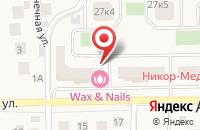 Схема проезда до компании Лучшее для интерьера в Андреевке
