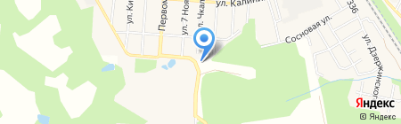 Хвосты и лапы зоомагазин на карте Алабушево