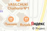 Схема проезда до компании АртФлёр в Новинках