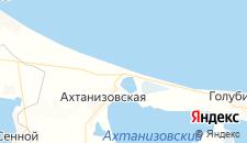 Гостиницы города Пересыпь на карте