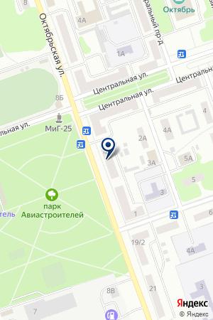 КОСАРЕВ В.В. на карте Дубны