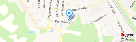 Почтовое отделение №141560 на карте Алабушево