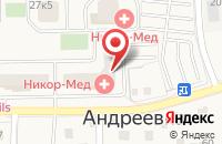 Схема проезда до компании Электротовары плюс в Андреевке