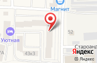 Схема проезда до компании Марафет в Андреевке