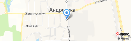 МГИУ на карте Андреевки