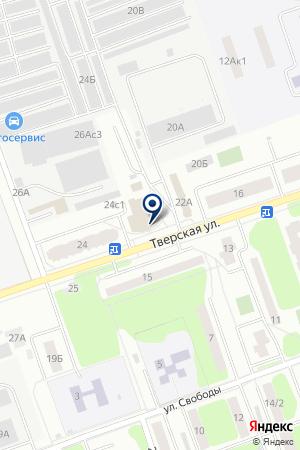 АВАРИЙНО-ДИСПЕТЧЕРСКАЯ СЛУЖБА ДУБНЕНСКАЯ ТЕПЛОСЕТЬ на карте Дубны