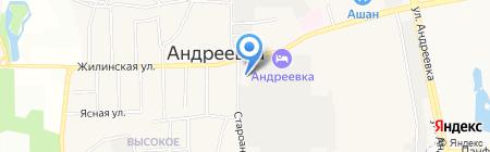 Администрация городского поселения Андреевка на карте Андреевки