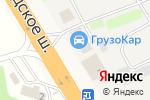 Схема проезда до компании Промгаз в Радумле