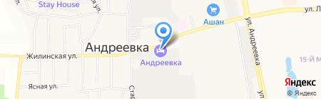 Скатт на карте Андреевки
