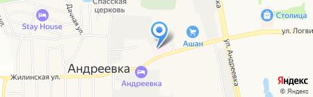 Аптека.ру на карте Андреевки