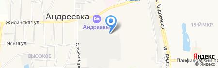 Золотой улов на карте Андреевки