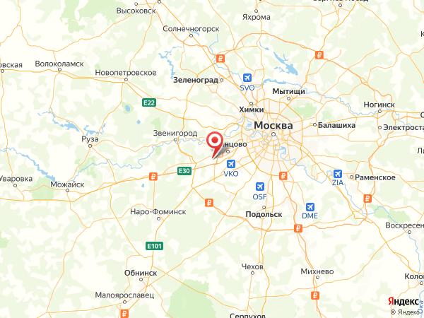 садовое товарищество Русское Поле на карте