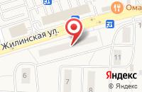 Схема проезда до компании Колесо фортуны в Андреевке