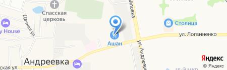 Beauty Lab на карте Андреевки