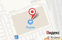 Схема проезда до компании Fuji-Lab в Андреевке