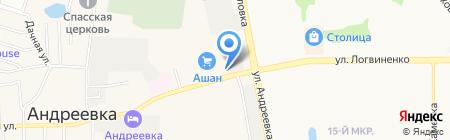 Ветеринарная помощь на карте Андреевки
