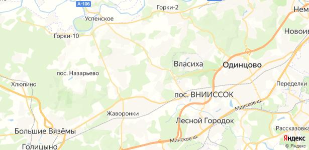 Лапино на карте