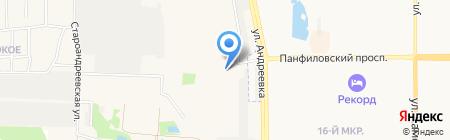 ИнвеСТрой на карте Андреевки