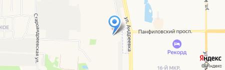 Надежные окна на карте Андреевки