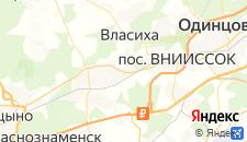 Гостиницы города Перхушково на карте