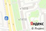 Схема проезда до компании Цвет-Окон в Москве