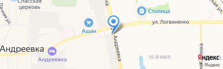 Не болит на карте Андреевки