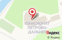 Схема проезда до компании Петрово-Дальнее в Грибаново