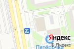 Схема проезда до компании Магнит-Косметик в Зеленограде