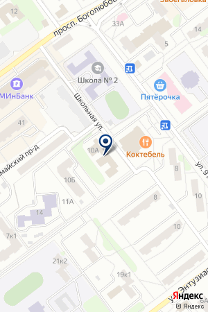 ПТФ МЕТОД на карте Дубны