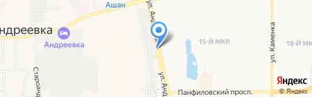 Богатырская еда на карте Андреевки