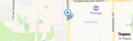 Go-Yoga на карте Андреевки