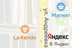 Схема проезда до компании Магазин фастфудной продукции в Андреевке