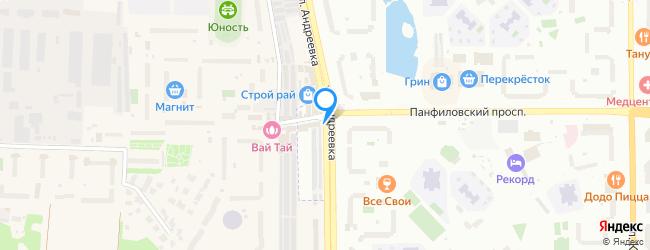 улица Андреевка