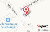 Схема проезда до компании Детский сад №25 в Старотитаровской