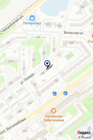 ФИНАНСОВАЯ ОРГАНИЗАЦИЯ АЛЬТЕРНАТИВА на карте Дубны