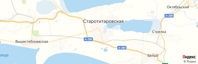 Старотитаровская на карте