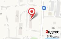 Схема проезда до компании ГАЗ в Майдарово