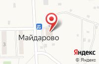 Схема проезда до компании Перекресток Экспресс в Майдарово