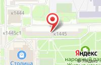 Схема проезда до компании Содружество «Воскресение» в Москве