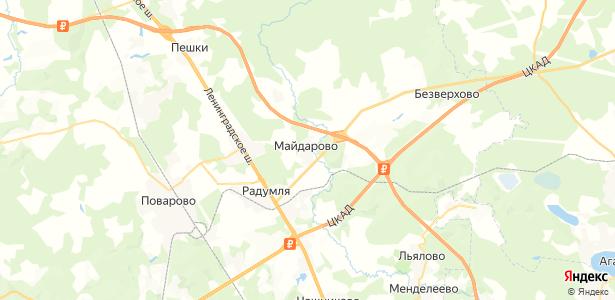 Майдарово на карте