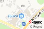 Схема проезда до компании Продуктовый магазин в Вороново