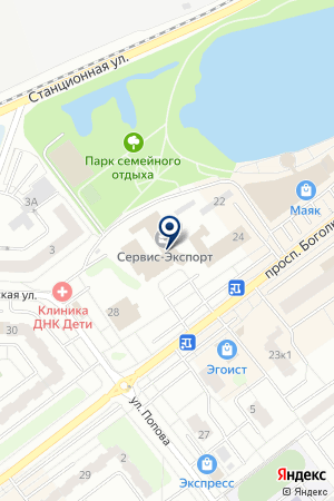 ПО ТЕХНОКОМПЛЕКТ на карте Дубны