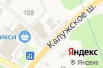 Схема проезда до компании Банк Воронеж в Вороново