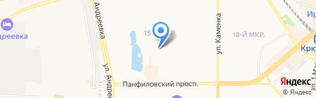 Средняя общеобразовательная школа №1194 с дошкольным отделением на карте Москвы